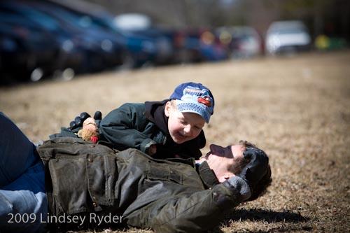 Tackling Daddy