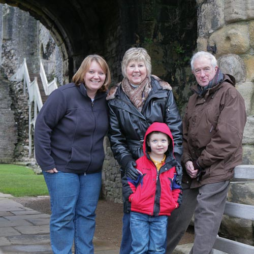 At Middleham Castle