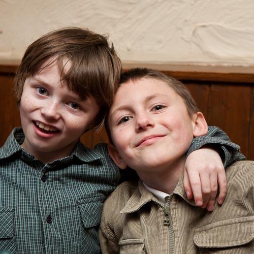 Cousins Ian & Gareth