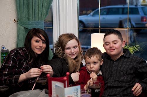 Leah, Nikki, Thomas & Liam